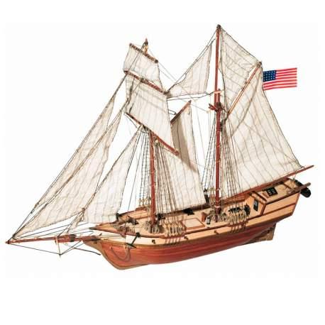 Maqueta naval Albatros Goleta 1:100 Occre
