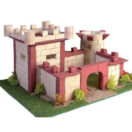 Maqueta Castillo Keranova en kits de construccion en ceramica