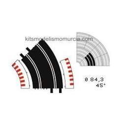 Borde exterior curva estandar Ninco (6 unidades) (CONSULTAR)