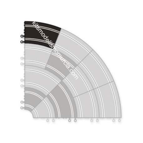 Curva super exterior scalectrix original