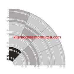 Curva interior scalextric original 2 unidades (CONSULTAR DISPONIBILIDAD)