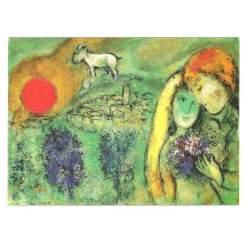 Puzzle 1000 piezas Les Amoureaux de Vence de Chagall