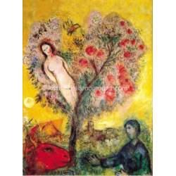 Puzzle 1000 piezas La branche, 1976 de Chagall (CONSULTAR DISPONIBILIDAD)