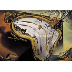 Puzzle 1500 piezas Les Montres Molles de Dalí
