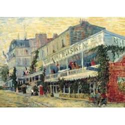 Puzzle 2000 piezas Restaurant De La Sire de Van Gogh