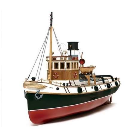 Barco RC eléctrico Ulises remolcador 1:30
