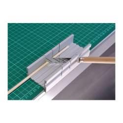 Ingletadora de aluminio