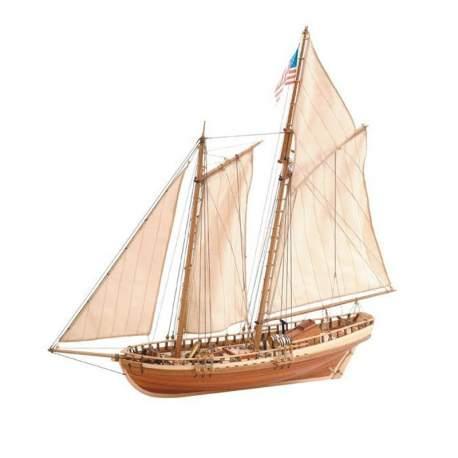 Maqueta naval Virginia American Schooner 1:35