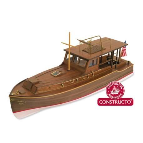 Maqueta naval Pilar - Ernest Hemingway serie Atlantis Constructo