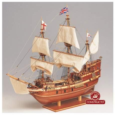 Maqueta naval Mayflower 1:65