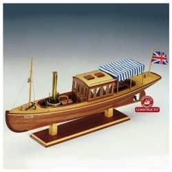 Maqueta naval Louise, barco a vapor 1:20 (CONSULTAR DISPONIBILIDAD)