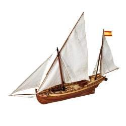 Maqueta naval San Juan Falucho 1:70