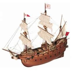 Maqueta naval San Martín Galeón 1:90
