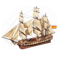 Maqueta naval Diana, fragata 1:85
