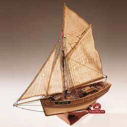 Maqueta naval Le Camaret, cúter francés 1:35