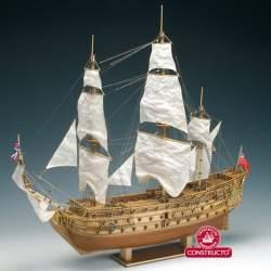 Maqueta naval H.M.S. Prince 1/61