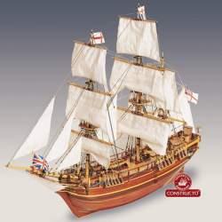 Maqueta naval H.M.S. Bounty 1:50