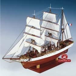 Maqueta naval Le Pourquoi Pas? 180Pas? 1:80
