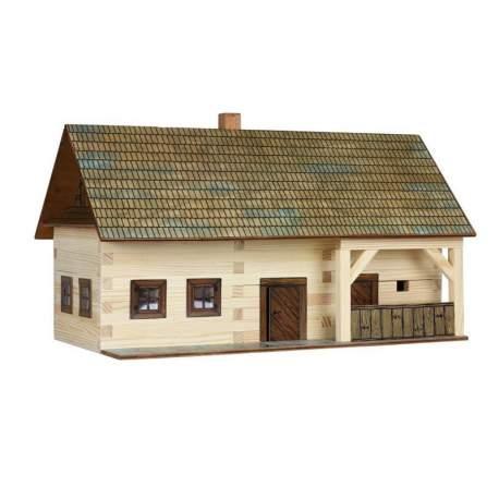 Escuela rural de madera en kit walachia