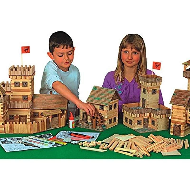 Rural Kits Juegos De Modelismo Juguetes 174 Madera Walachia Escuela Y 5A4jL3R