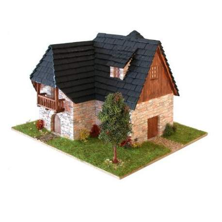 Casa típica pirenaica