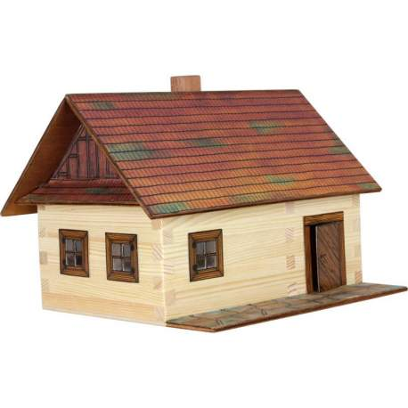 Casa forestal de madera