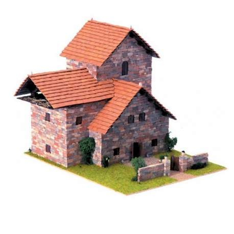 Casa de construcción Rústica 5 Domus Kits
