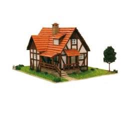 Construcción en piedra, Casa Alpina mini - Cuit