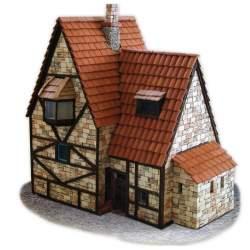 Construcción en piedra, Casa Alpina - Cuit
