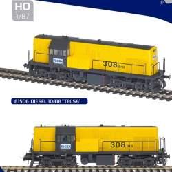 Locomotora diesel 308 número 10818 de TECSA escala H0 (CONSULTAR DISPONIBILIDAD)