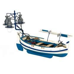 Maqueta naval Calella Barca de Luz 1:15 Occre