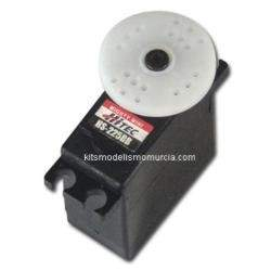 Servo Hitec Mini HT225BB C/ROD.. 4.7Kg.-0.11 Seg (6V)