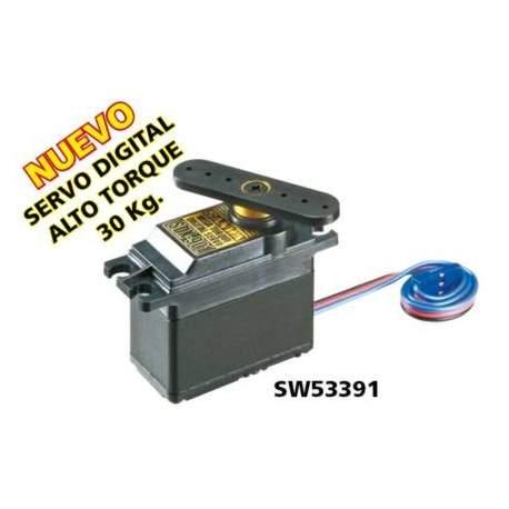 Servo digital SDX901 Sanwa Alto Torque 30 Kg