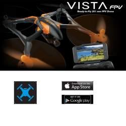 Cuadricoptero Dromida Vista FPV con cámara Quadcopter Blue (azul) RTF