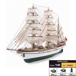 Maqueta naval Gorch Fock 1:95 Occre