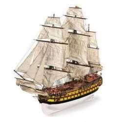 Maqueta naval navio San Ildefonso escala 1:70 Occre