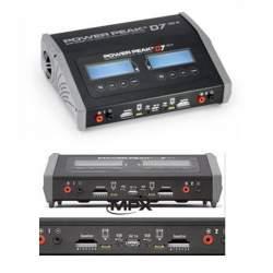 Cargador / Descargador POWER PEAK D7 EQ-BID 12V/230V-DUO Multiplex