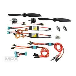 KIT DE PROPULSION TWINSTAR BL MULTIPLEX