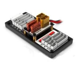Adaptador para cargador baterías Li-Po, carga dos baterías al mismo tiempo con un cargador