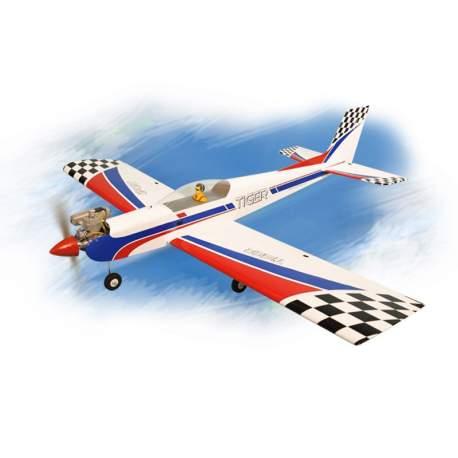 Avion Tiger 3 .91/15cc escala 1:5 ARF Phoenix Model