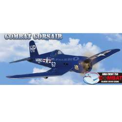 Avión Combat Corsair Great Planes Gpma 1470 (CONSULTAR DISPONIBILIDAD)