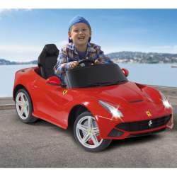 Coche con bateria y mando Ride-on Ferrari F12 Berlinetta rojo Jamara