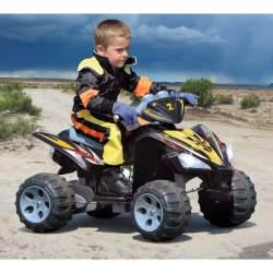 Coche con bateria y mando para padres Ride-on Quad EP 2WS 1:1 Jamara