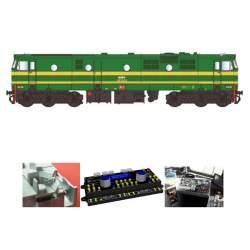 Decoder de luz y sonido para locomotora 1900 D & H Mabar(CONSULTAR DISPONIBILIDAD)