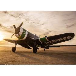 Avión F4U-4 Corsair 1.2m BNF Basic with AS3X® E-flite