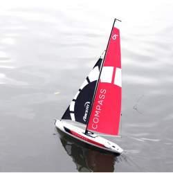 Barco velero 791-1 Compass tipo competición RG65