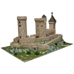 Maqueta Aedes Ars 1010 Castillo Chateau de Foix para montar en ladrillos