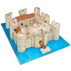 Castillo Bodiam Castle para montar en ladrillos