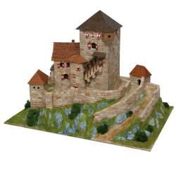 Maqueta castillo Burg Branzoll para montar en ladrillo Aedes Ars 1054