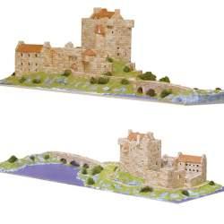 Castillo Eilean Donan Castle, Loch Duich - Highlands - Escocia - S. XIV, Aedes Ars